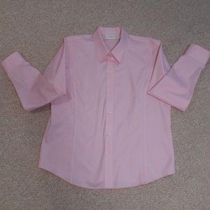 Liz Claiborne pink blouse size 12